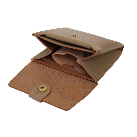 "【LIMITED EDITION ""SAND BEIGE""】STW-02 Small  Wallet"