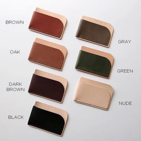 2. CARD CASE B - Leather Crafting Kit