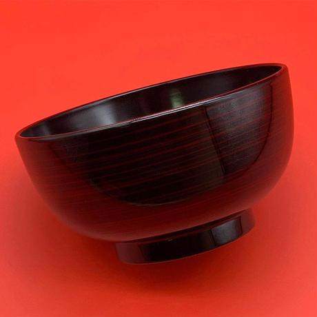 乱筋汁椀(黒)