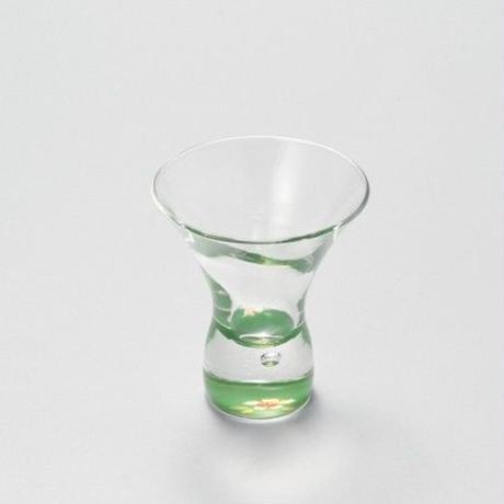 桜 デザートグラス(緑)