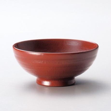 地の粉 飯椀 大(古代朱)