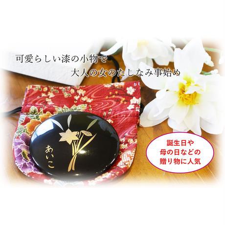 【母の日のプレゼントに最適】誕生花手鏡