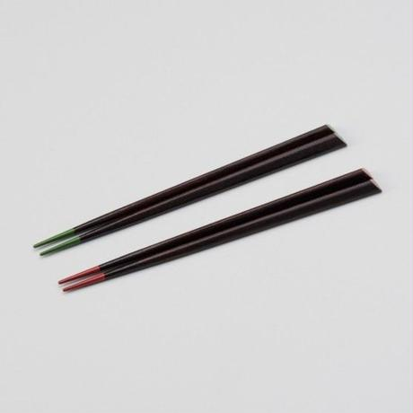 子供 ハート箸 (緑・ピンク)各色