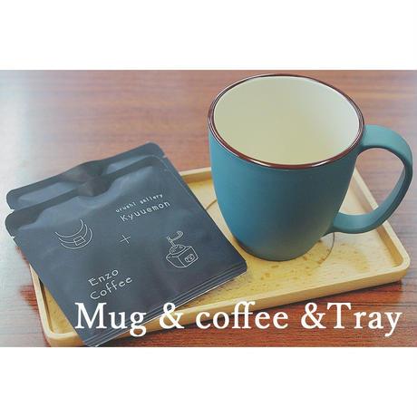 マグカップコーヒーギフトセット(トレー付)