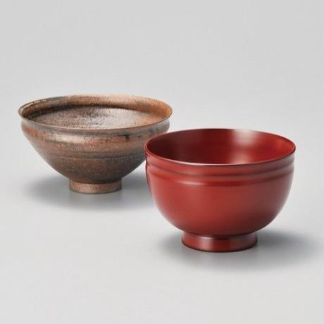 越前飾器椀揃(古代朱)