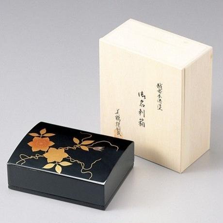 鉄仙 名刺箱(黒)
