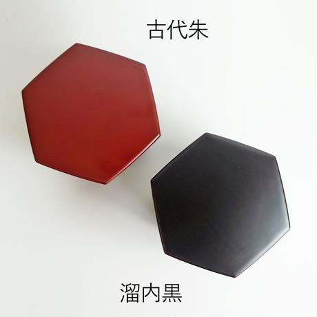 漆塗り 食洗機対応 六角二段入子重
