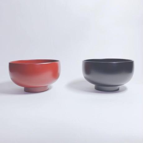 MRほてい汁椀(黒・朱)