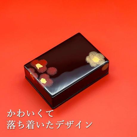 うるし華 名刺入(黒)