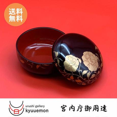 華唐草ボンボニエール(黒内朱)