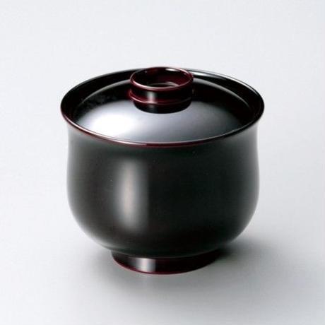 福型小吸物椀(溜)5客セット