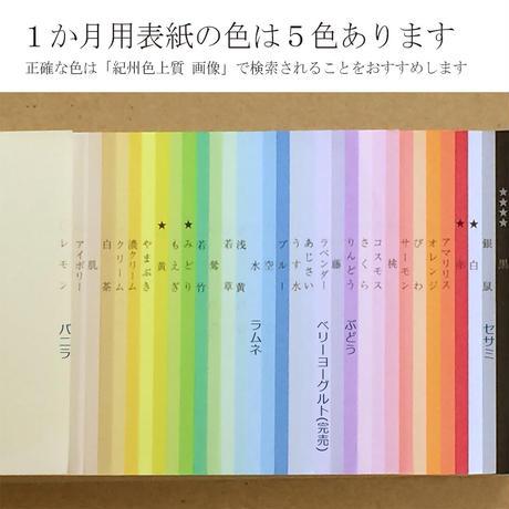 大人の時間割帳(1か月)お徳用12冊セット ラムネ