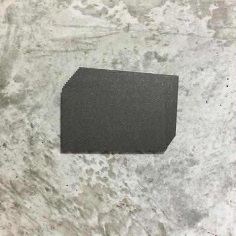 エースボールブラック 400g/m2 名刺サイズ 12枚入 350円