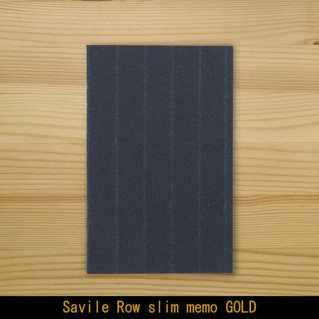 セビロメモ・ゴールド(薄い5mm方眼メモ帳)