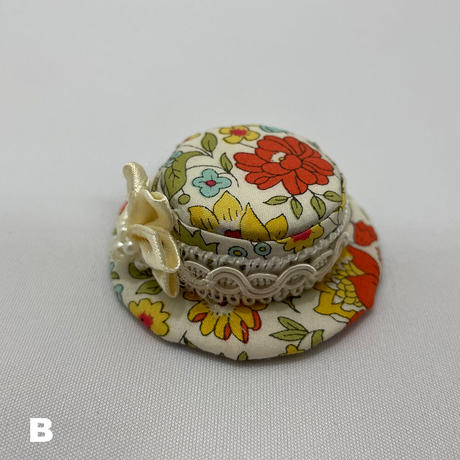 【限定】ハンドメイドの帽子ミラノハット