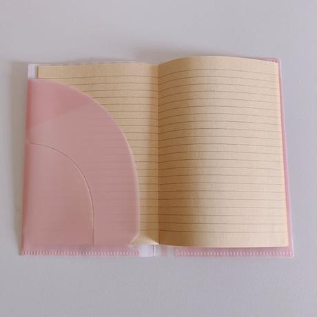 おくすり手帳カバー(メモ帳付き)A6-sized file folder(With notepad)