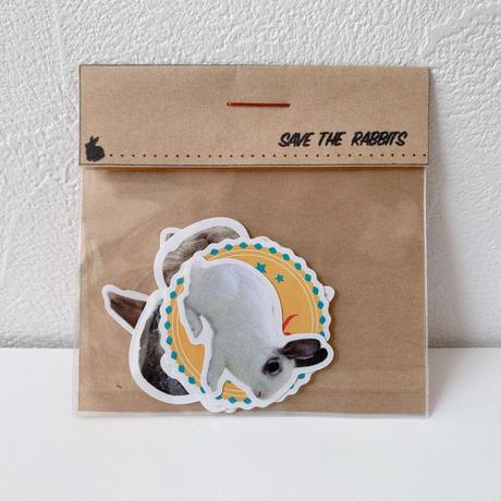 フレークシール9種セット[Small 9pcs stickers]