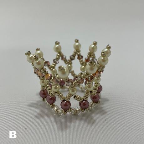 【限定】ハンドメイドの冠ティアラ4