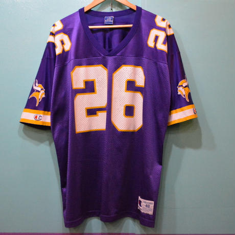 Champion NFL Vikings ナンバリング ゲームシャツ