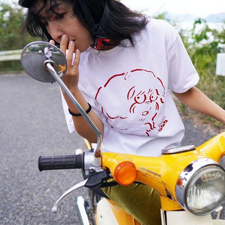 犬魚Tシャツ(日本製オーガニックコットン)