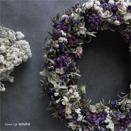 クレマンス ~Clémence~ / ドライフラワーリース