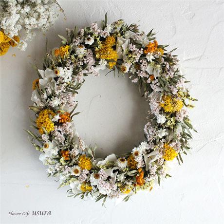 ミゼリコルド ~Miséricorde~ / ドライフラワーリース
