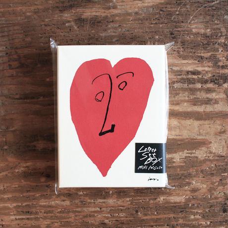 イワサトミキ   LETTER SET BOX 「HEART」