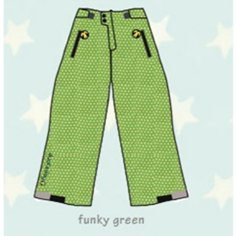 ducksday Lined winter pants Funky green ( 8y / 10y / 12y )