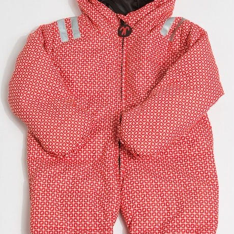 ducksday Baby warm suit Funky red
