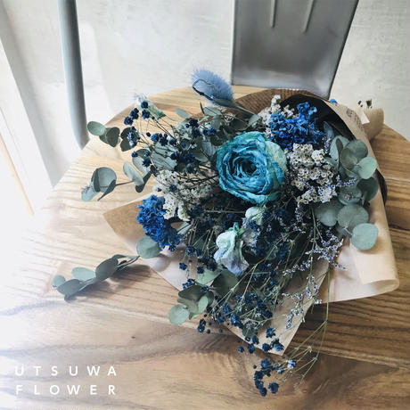 Natural Dried Bouquet (エリア内配送料無料/カラーおまかせ)