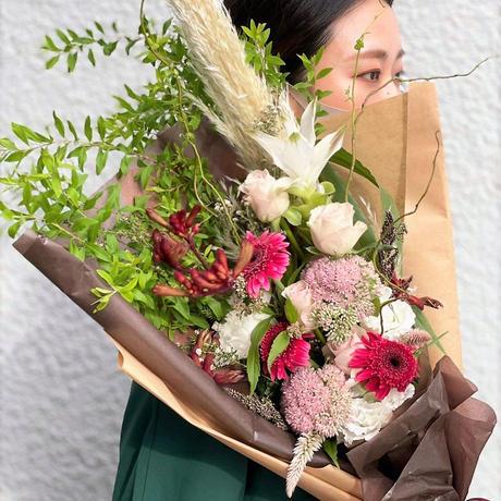 季節のブーケ/フローリストおまかせ¥6,000+tax