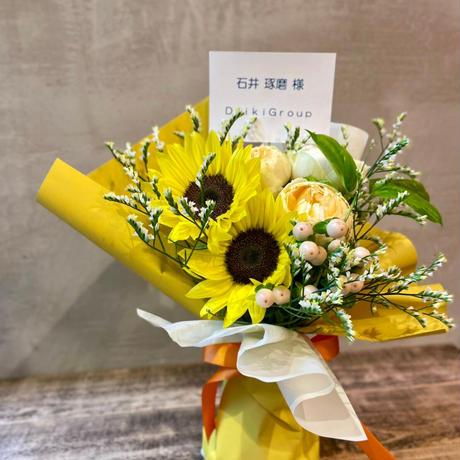 """Present for TAKUMA"" スタンディングブーケ"