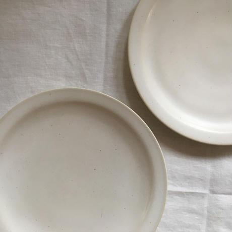白リム皿 径20㎝