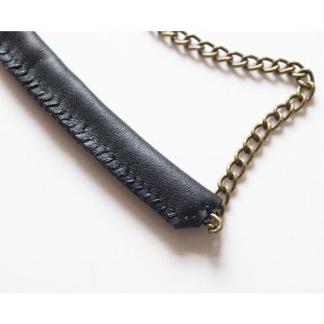 もこもこひつじ がま口お財布バッグ (長財布サイズ)  BLACK