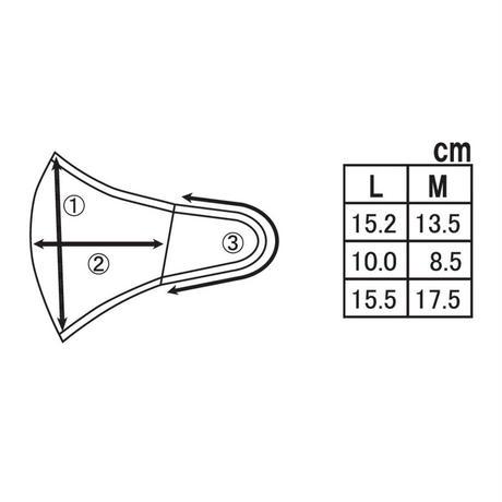 FIG  ORIGINALS  MESH MASK (WHT) L size