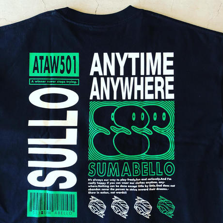 SULLO BIG SILHOUETTE SU L/S TEE  (2color)