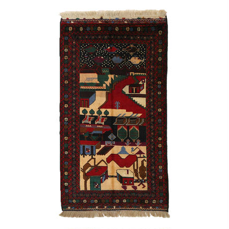 "OUTTA RUGS #104 ""Crimson River"""