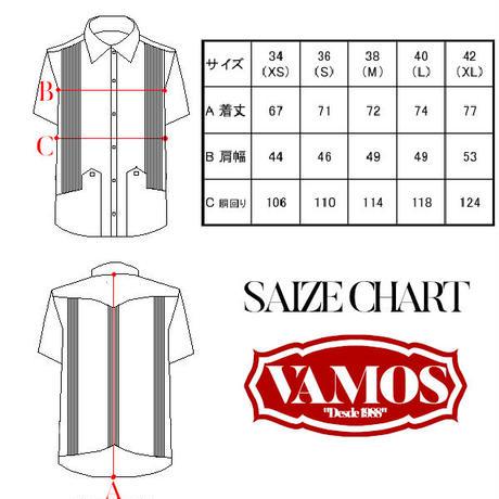 ピンタックキューバシャツ(半袖グアヤベラシャツ) ネイビー