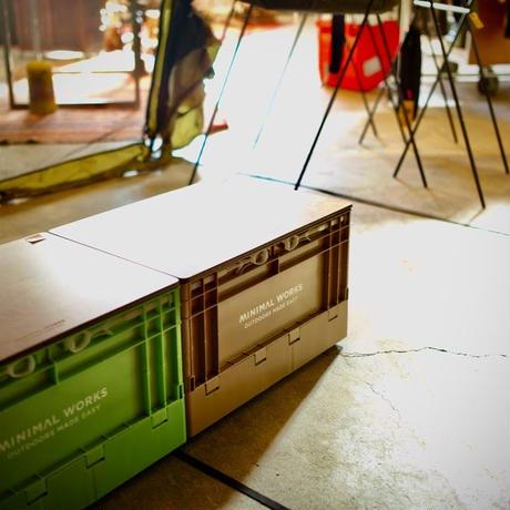 MINIMAL WORKS,FOLDING BOX(S)  WOOD COVER