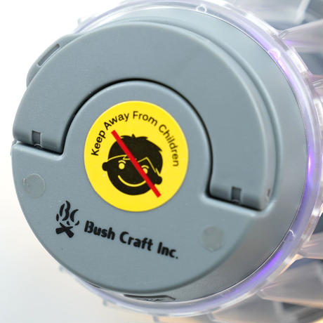 BUSH CRAFT, 500ボルト 誘引殺虫ランタン