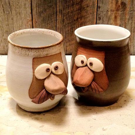 BROWN by 2-tacs, Funny face mug(B-F003)