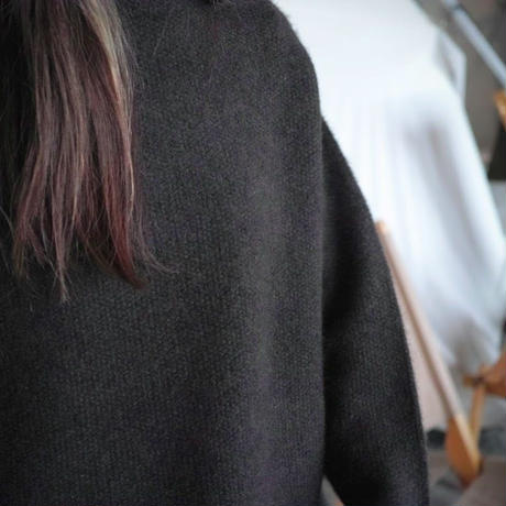 SIDE SLOPE, Knit Pullover YAK100%_plane