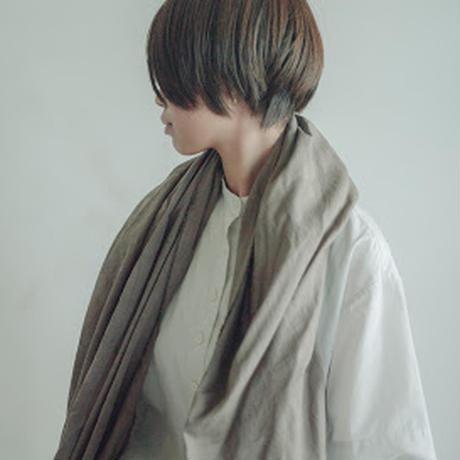 LOCALLY,cotton rayon silk stole 天然染