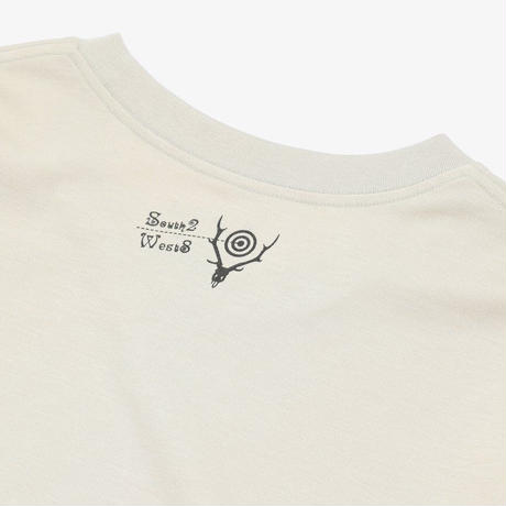 South2West8,L/S Crew Neck Tee - MOONSHINER