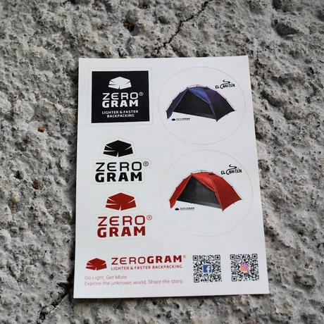 ZEROGRAM, El Chalten Pro 2P /Clear Red(日本限定カラー)*2020SS