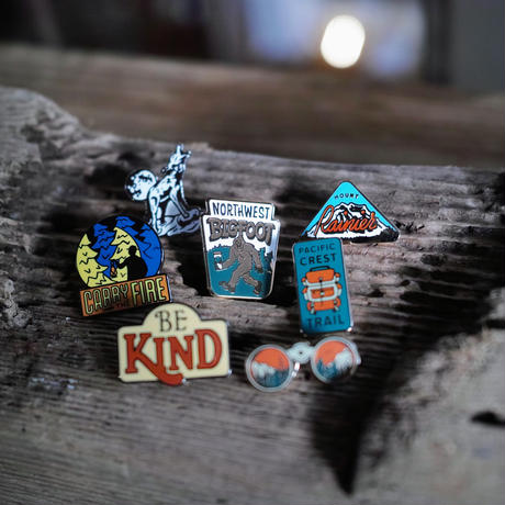 Kimberlin Co., ENAMEL PINS  21種類