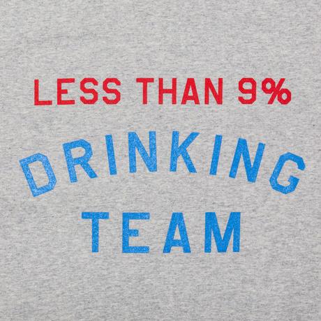 TACOMA FUJI RECORDS, LESS THAN 9% DRINKING TEAM LS shirt