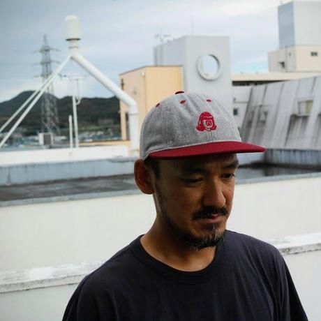 TACOMA FUJI RECORDS,TACOMA FUJI LOGO 2TONE CAP