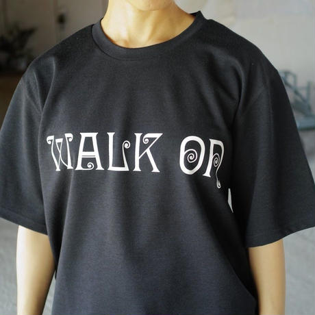 South2 West8,S/S Crew Neck Tee-WALK ON
