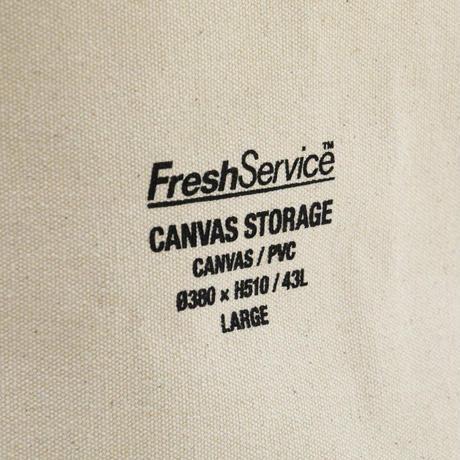 Fresh Service, CANVAS STORAGE S